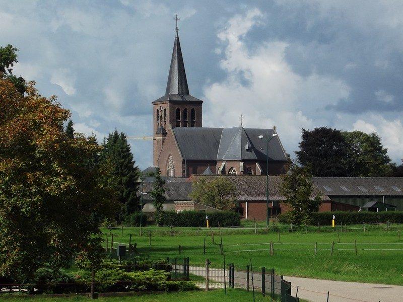 De kerk van Beugen