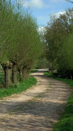 wandeling op zondag 28 april 2013