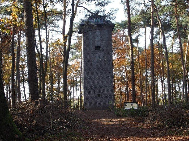Uilentoren op het landgoed De Bedelaar
