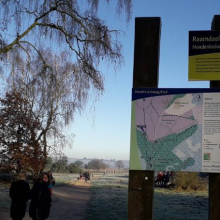 Wandelroute Kapellenberg-wandeling, te Rozendaal