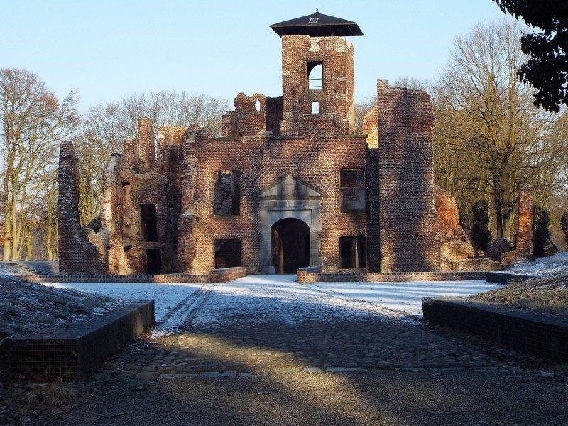 Kasteelruïne Bleijenbeek, nu een paar jaar later