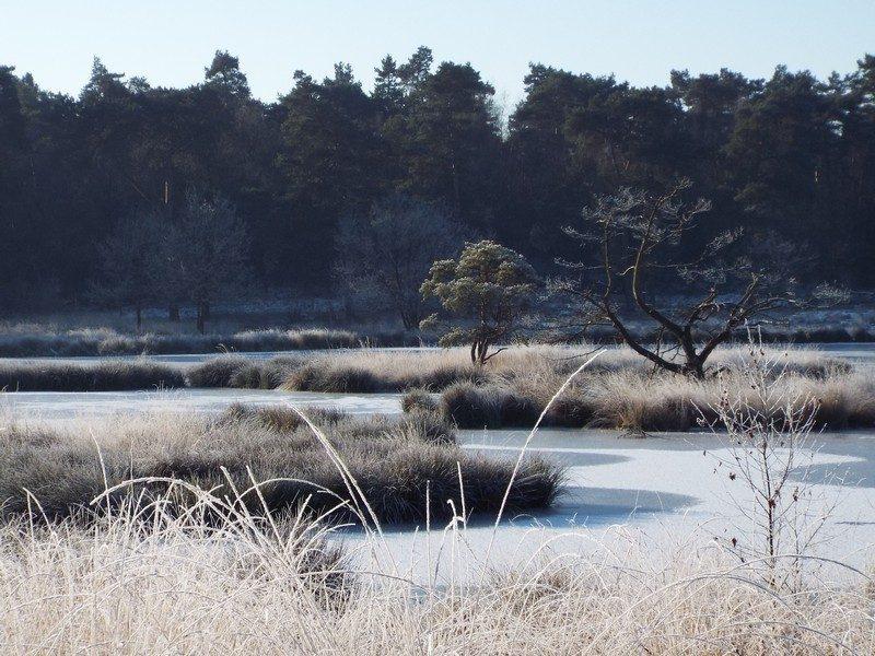 De Duuvelskuul nu in de winter