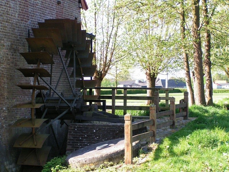 Watermolen in Oploo
