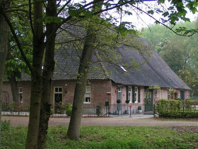 Boerderij (Vlaamse schuur) in de Mortelen