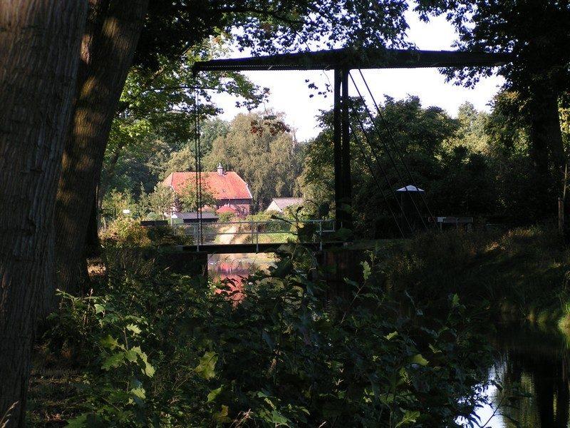 Een van de vele kanalen door Griendtsveen