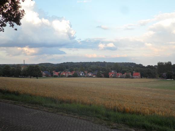 uitzicht vanaf de Markelose Berg