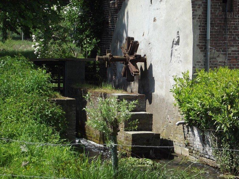 Watermolen de Schouwsmolen zonder waterrad