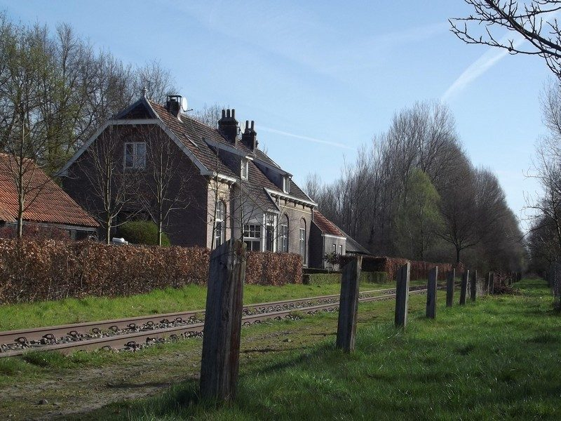 Het Duits Lijntje met voormalig stationsgebouw