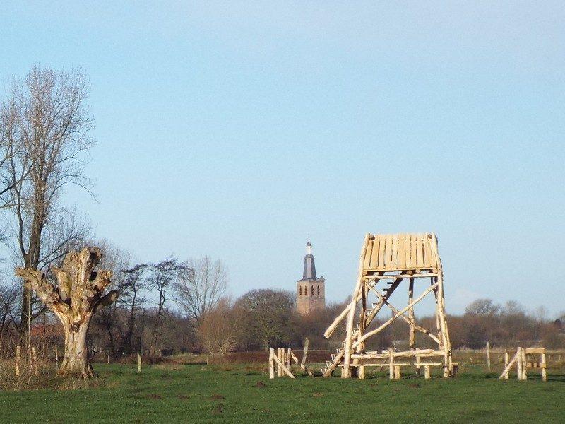 Uitkijktoren in de Dommelbeemden