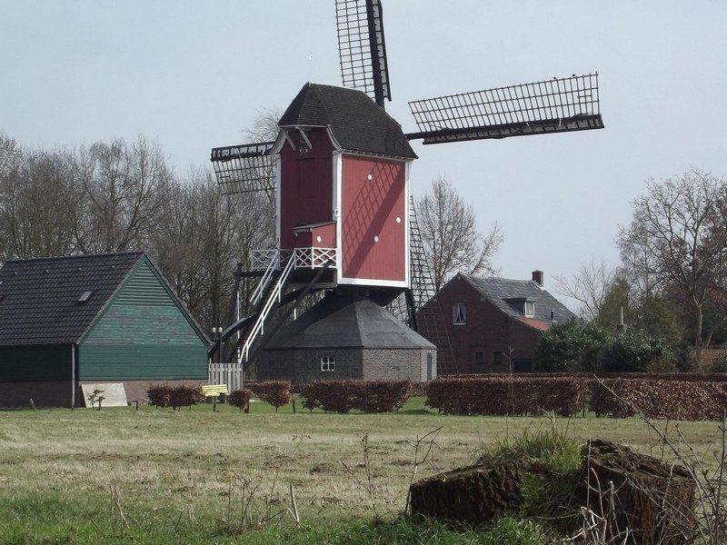 De standardmolen Sint Lindertmolen