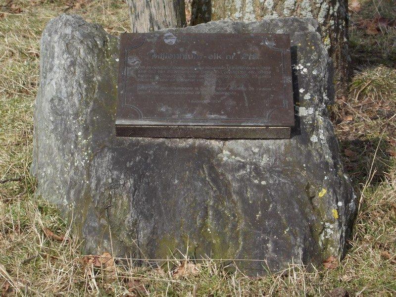Millennium plaquette