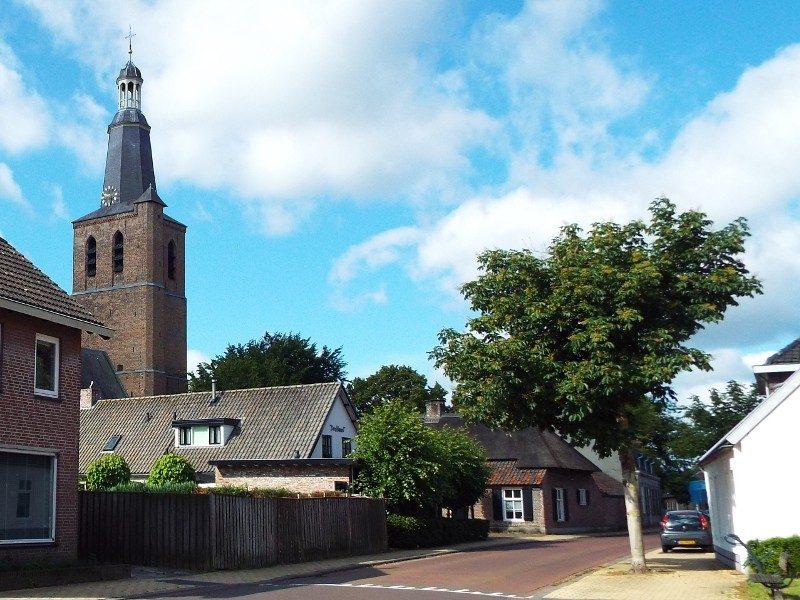 Eerschot met zijn markante kerktoren