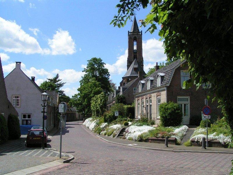 De kerk van Amerongen