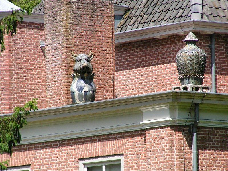 Landgoed Zuylenstein, toch wel een bijzonder beeldje