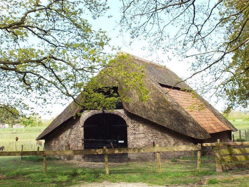 Schaapskooi op landgoed Zuylenstein