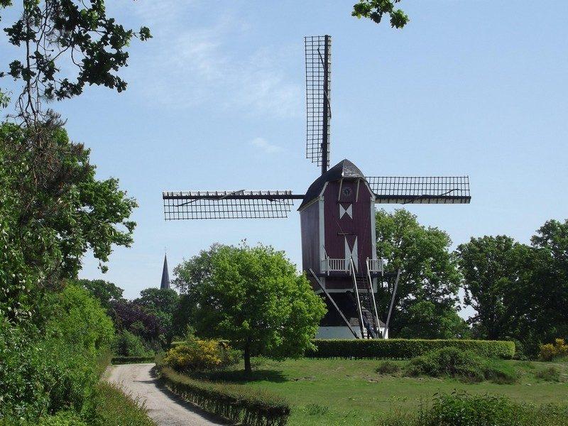 De standerdmolen Sint Willibrordus