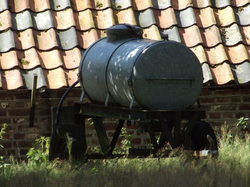 Waterton bij de schaapskooi