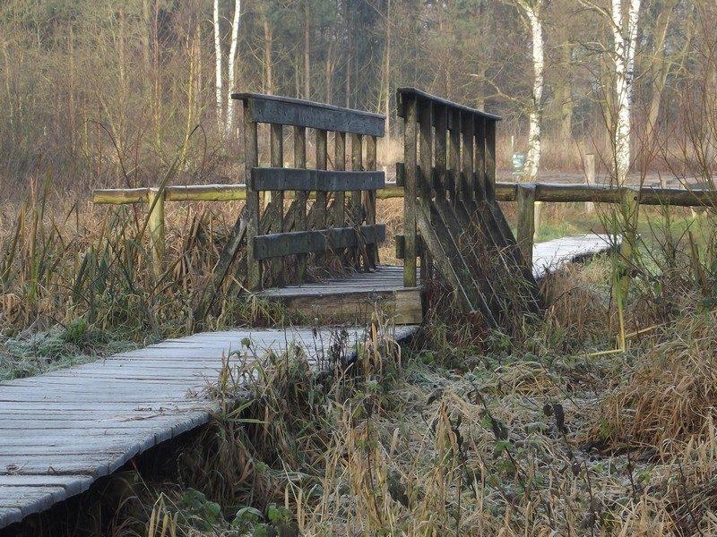 Leuk brugje onderweg
