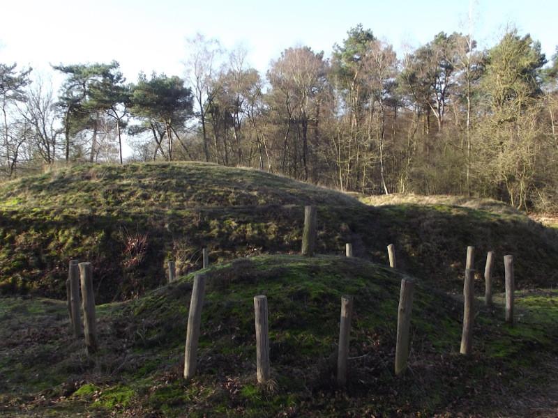 De Zwarten Berg de grootste grafheuvel in Nederland