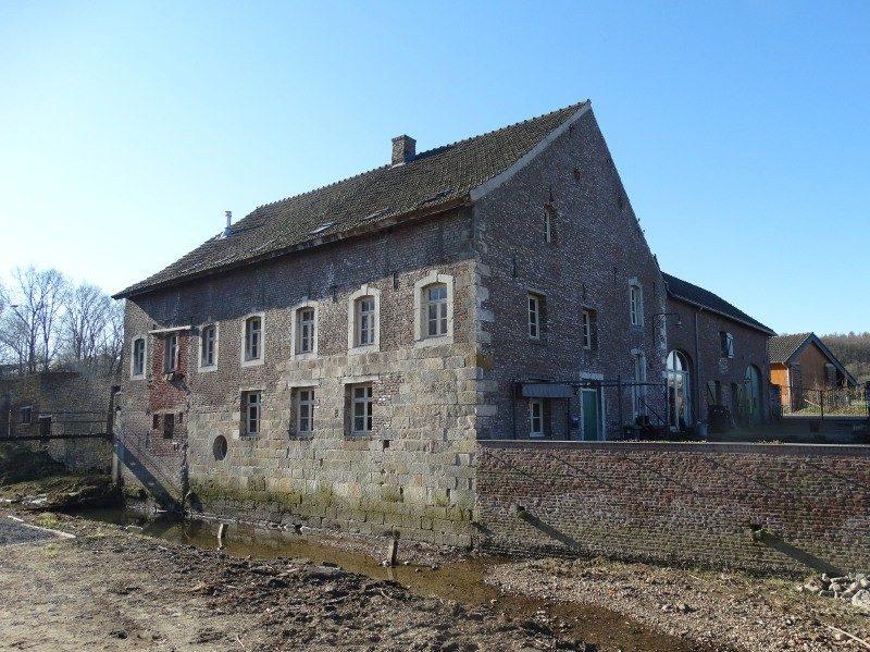 De enige abdijmolen van Nederland aan de Worm