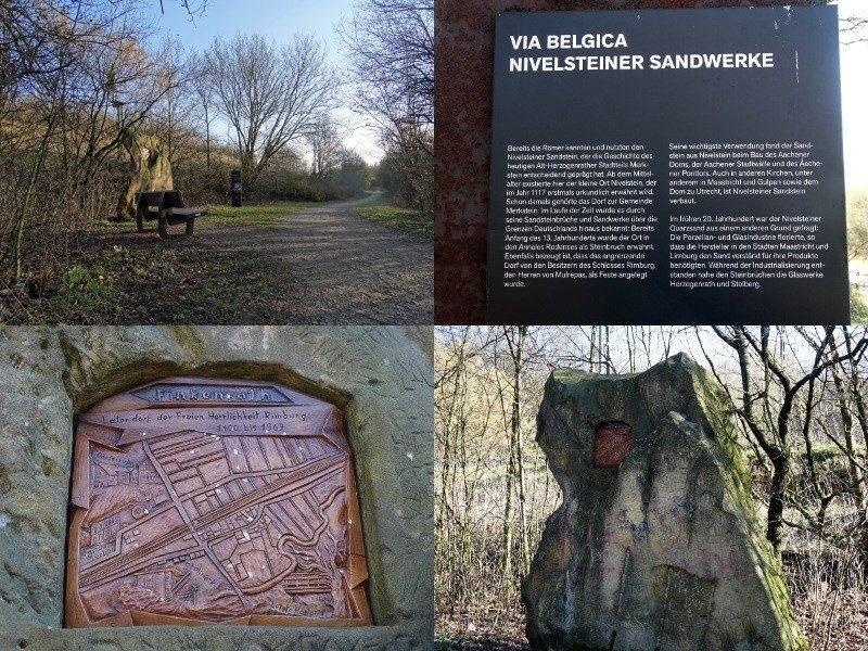 Info over een historische plek