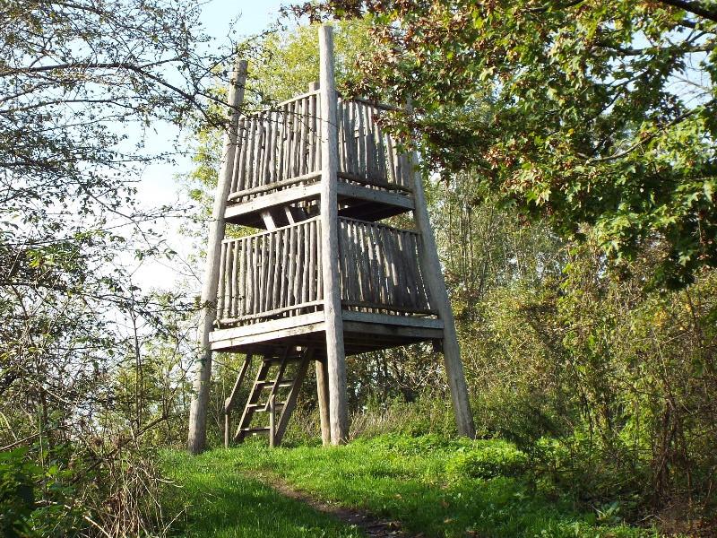 Uitkijktoren bij het Keelgras