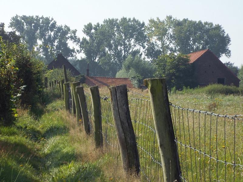 Pad richting boerderij Heijerhof