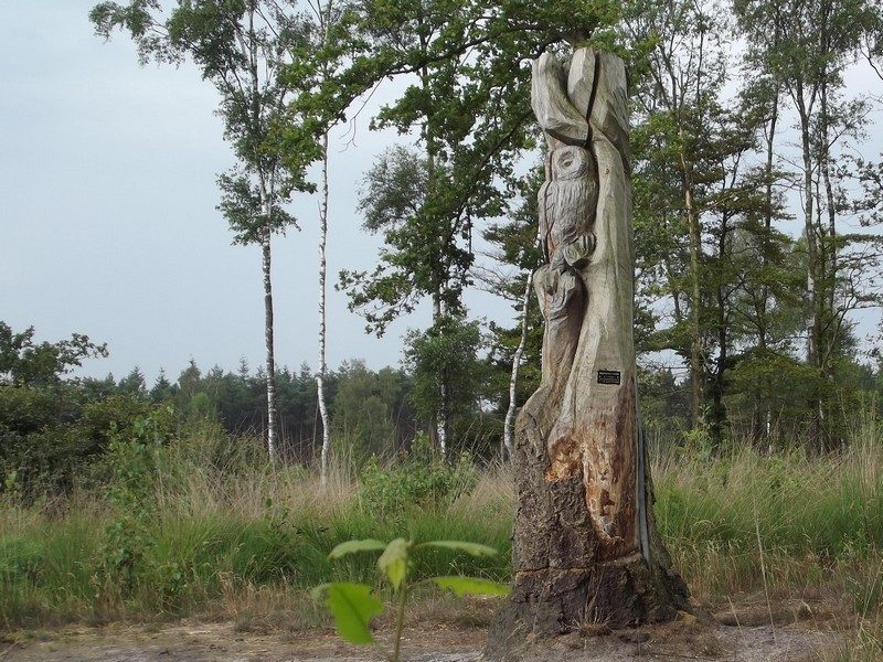 Natuurgebied De Malpie, kunstwerkje