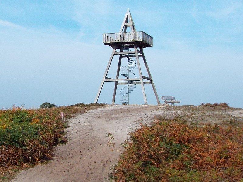 12,5 meter hoge uitkijktoren
