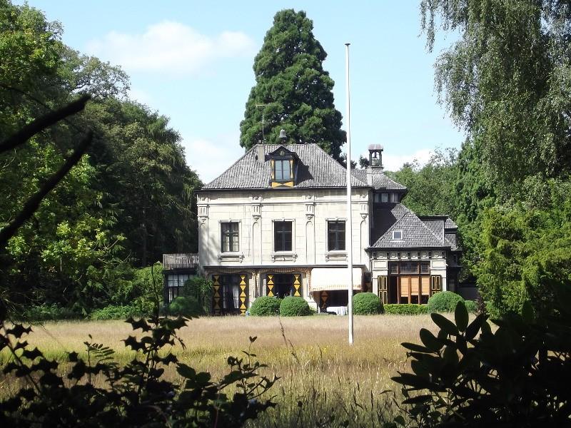 Landhuis op landgoed Eikenhorst