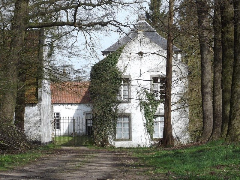 Landgoedhuis in het Landgoed Hoosden