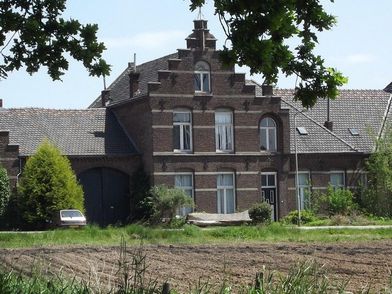 Boerderij in omgeving van kasteel Nederhoven