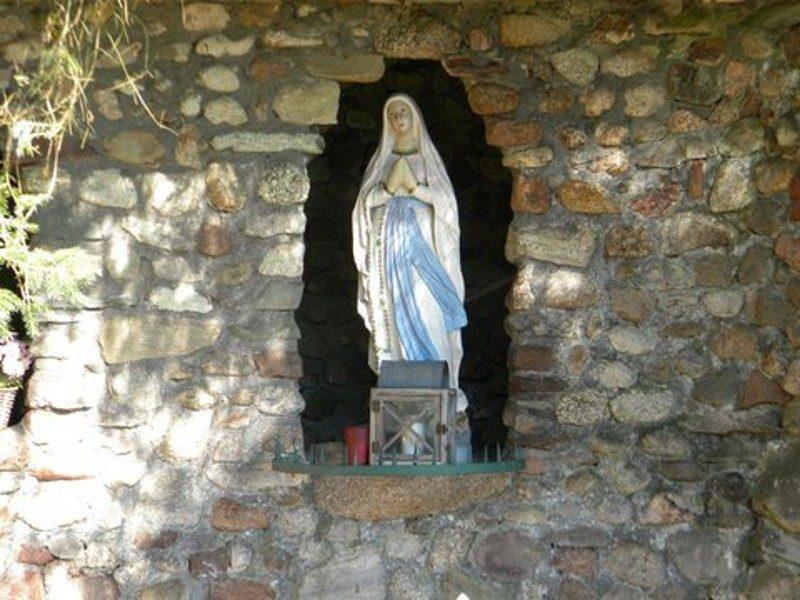 Maria in het zonnetje
