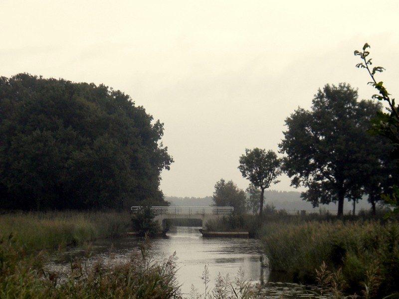 Brug over de Westerwoldse Aa bij Wedde