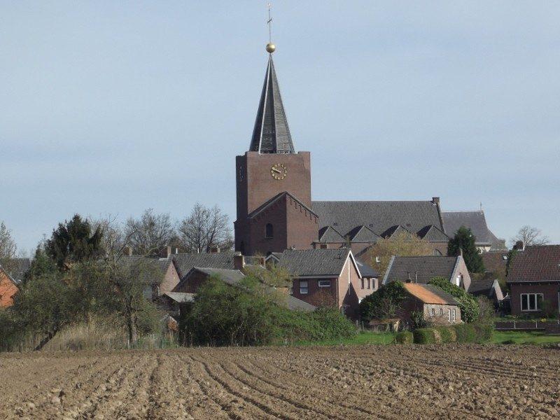 De kerk van Herkenbosch