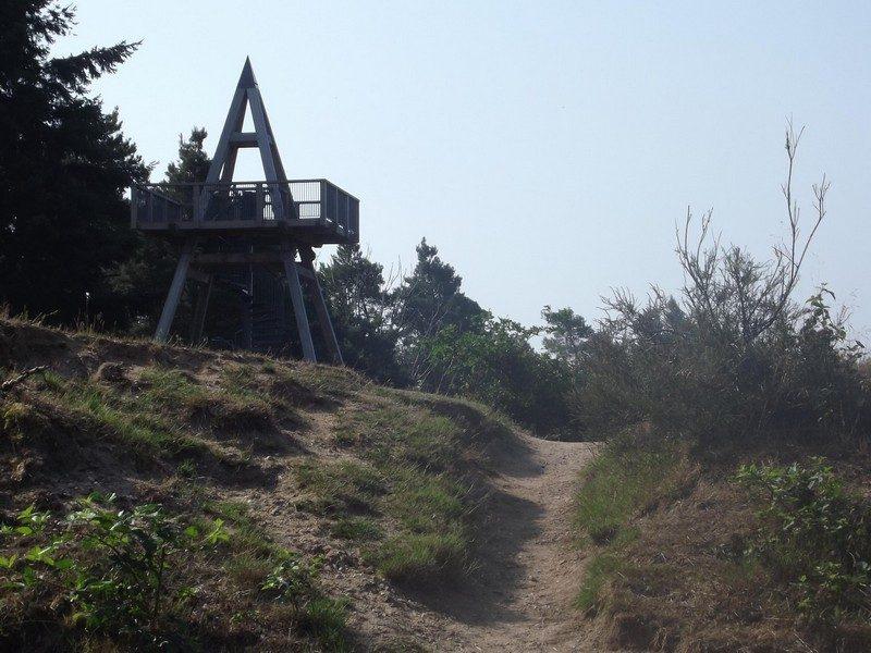 Uitkijktoren bij de Mookerschans