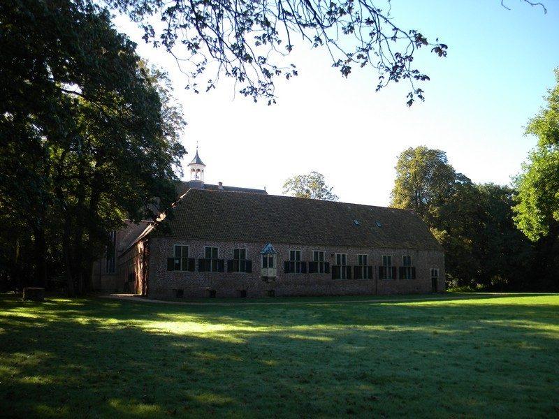 De noordwand van het klooster Ter Apel