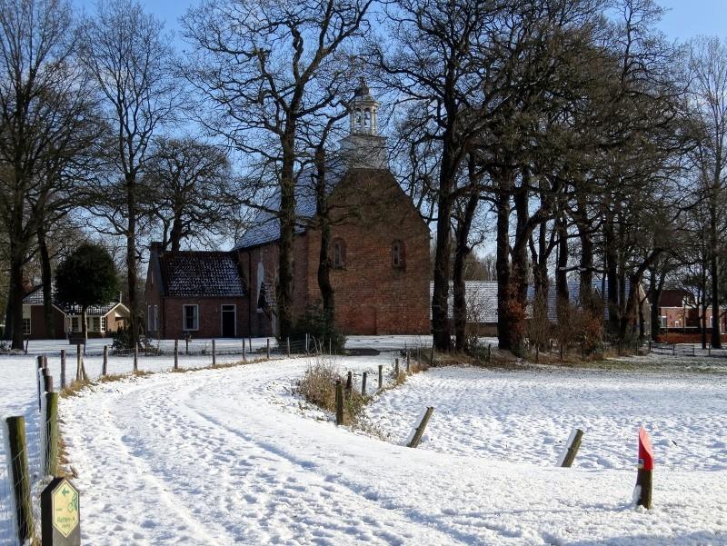 Het kerkpad in Sellingen.