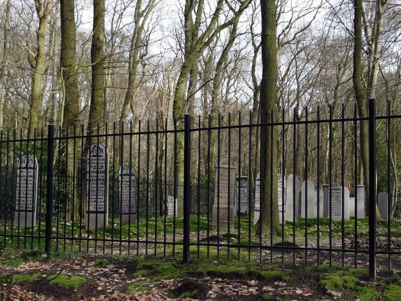 De Joodse begraafplaats in het Ter Apeler bos
