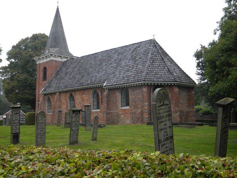 De 13de eeuwse kerk in Wedde