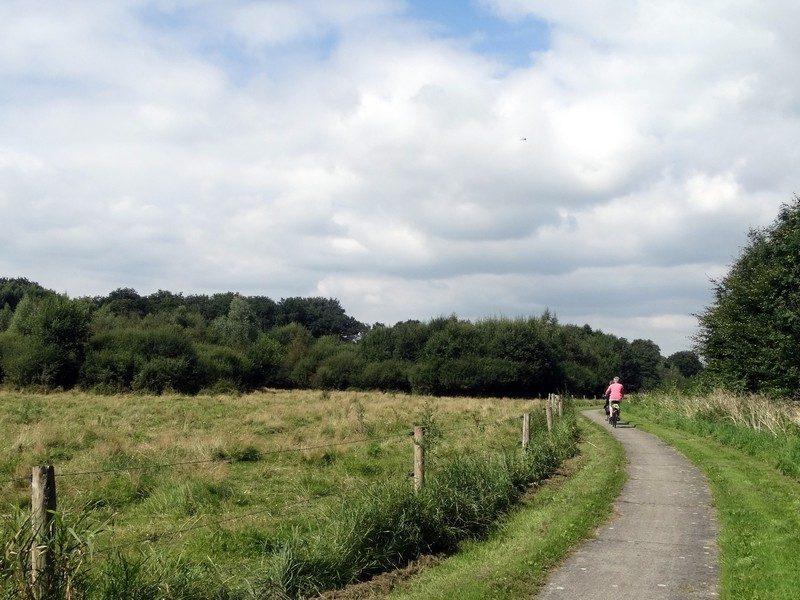 Muntvlindertje, het pad langs het Lieftingsbroekbos