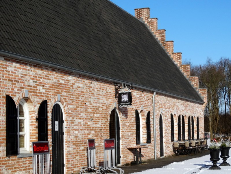 De ingang van Kloosterboerderij Bleijendaal