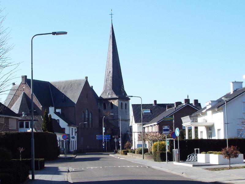 De kerk van Stramproy
