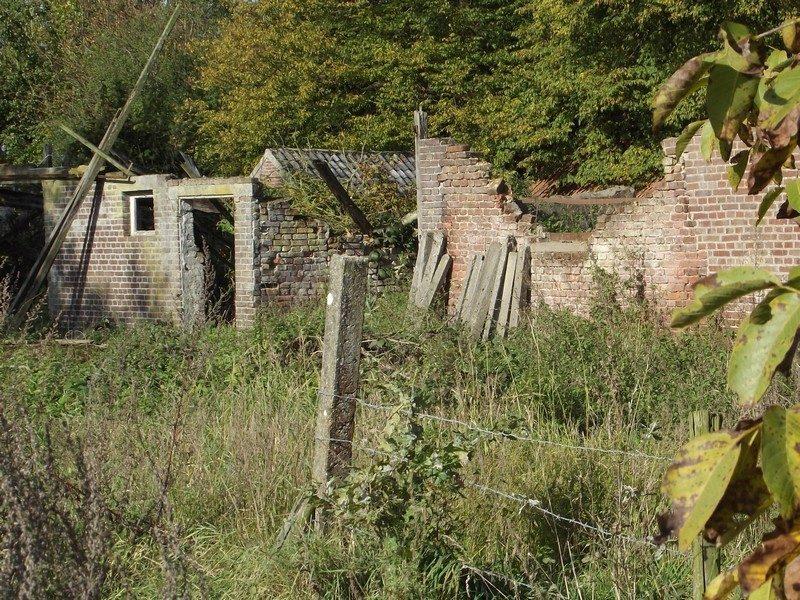 Vervallen boerderij