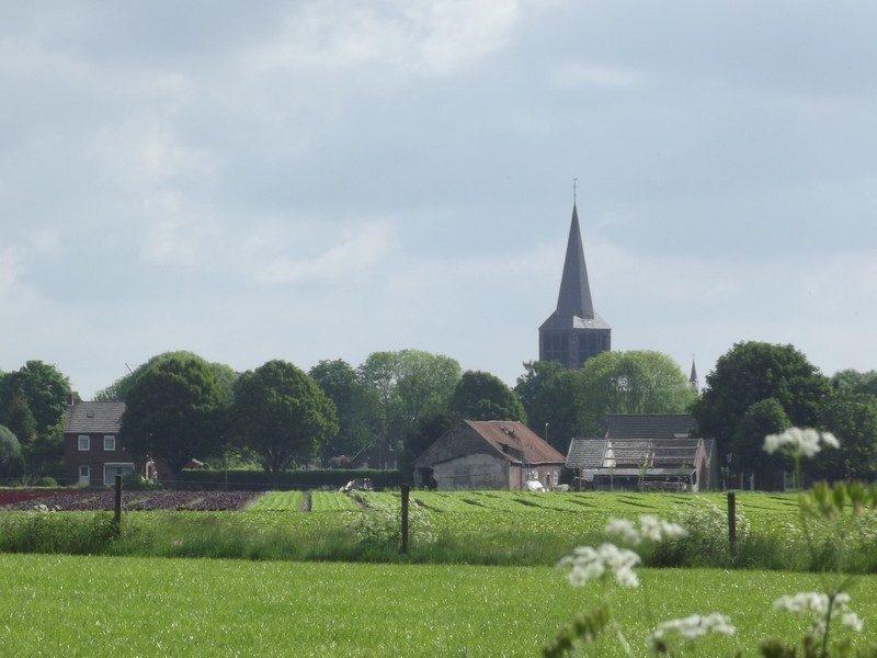 Zicht de kerk van Sevenum