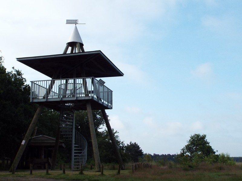 Uitkijktoren op de Landschotsche Heide