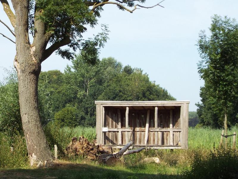 Vogelkijkscherm in het Blakterpark