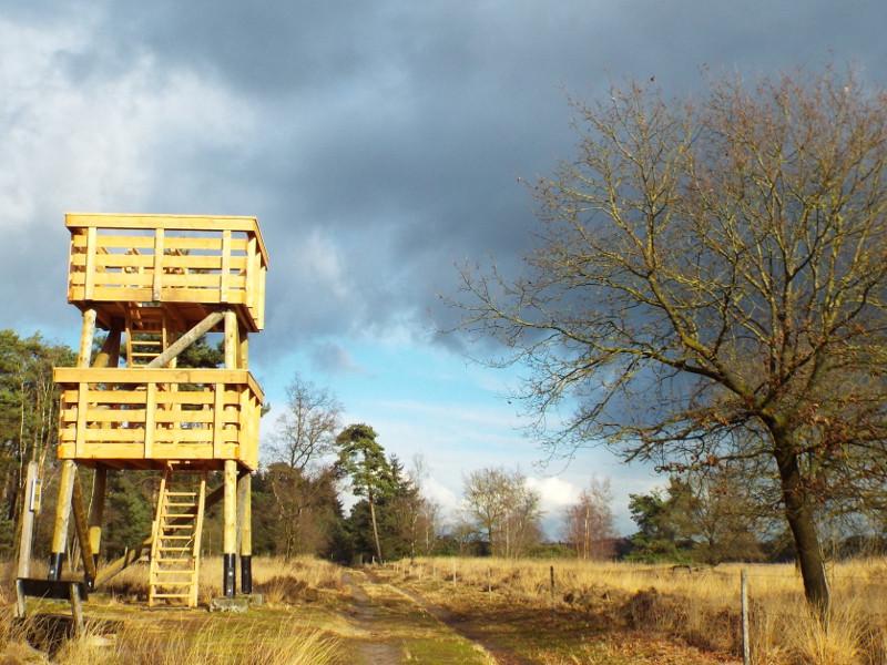 Uitkijktoren in Stippelberg
