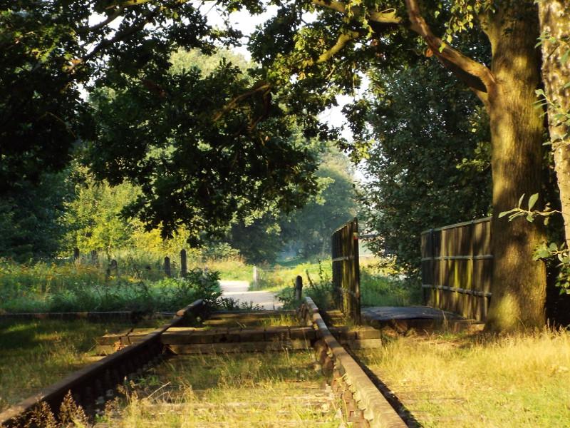 Nogmaals het spoorbrugje