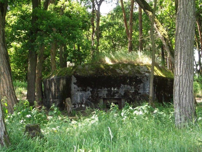 Kazemat in het gebied Langven en de Maurik